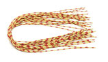 Pro CENTIPEDE LEGS speckled yellow/red - medium