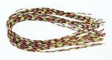 Pro CENTIPEDE LEGS speckled yellow/black/red - medium