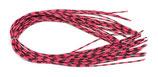 Pro CENTIPEDE LEGS speckled fuschsia - medium
