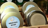 Organic Shaving Soap - with or without tin case