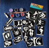 Pack 20 Tattoos de purpurina
