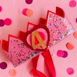Hartjescijfer voor Confettikroon Little Heart