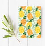Postkarte - Ananas