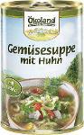 Gemüse-Suppe mit Geflügel