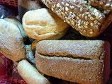 Dinkel-Kamut Mohn Brot / vegan