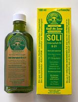 Soli Chlorophyll Öl S 21* im Kristallrad aufgeladen