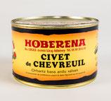 Civet de chevreuil