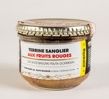 Terrine de sanglier aux fruits rouge