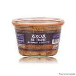 Axoa de truite au piment d'Espelette