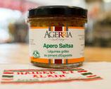 Apéro Saltsa aux légumes grillés au piment d'Espelette