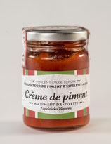 Crème de Piment d'Espelette