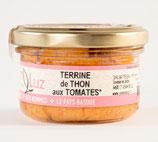 Terrine de thon aux tomates