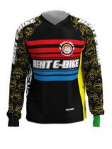 Maglietta freeride Rent E-bike manica lunga - Tg. XXXL