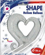 150076  Chain of Hearts silber