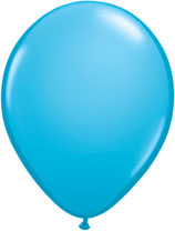 Robins Egg Blue - Latexballon rund