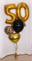 Elegantes Geburtstags-Ballon-Bouquet