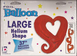 98116 Folienballon Chain of Hearts