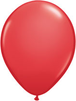 Red - Latexballon rund