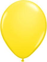 Yellow - Latexballon rund