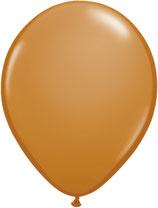 Mocha Brown - Latexballon rund