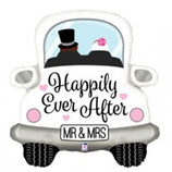 Happily Ever After Wedding Car