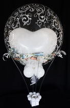 Heißluftballon - Geldgeschenk Hochzeit