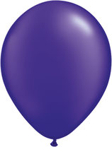 Pearl Quartz Purple - Latexballon rund
