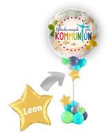 Geschenk Ballon : Glückwunsch zur Kommunion