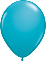 Tropical Teal - Latexballon rund