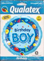 Ballon Geburtstag-Junge: Birthday Boy