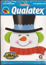 19040 Smiling Snowman