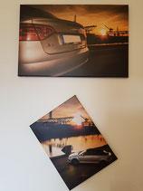 Audi im Sonnenuntergang  als Kombination