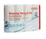 Küchenrolle aus Recycling Papier