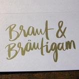 Braut & Bräutigam, Silbergold