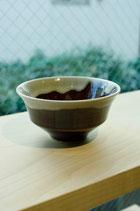 有田焼 わらアメ釉 陶器飯碗