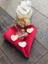 Valentinsedition Wunschglas