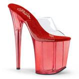 High Heels Flamingo-801T von Pleaser rot