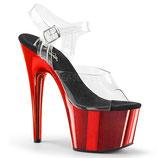 High Heels Adore 708  von Pleaser rot