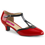 Pleaser Pumps  Fab-428 rot