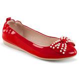 Ballerinas IVY-09 von Pleaser rot