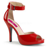 Pleaser Pumps  Eve-02 rot