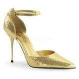 Pleaser Stiletto Heels Appeal-21 gold