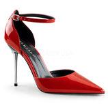 Pleaser Stiletto Heels Appeal-21 rot