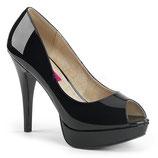 Pleaser High Heels Chloe-01 schwarz