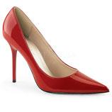 Pleaser Stiletto Heels Classique-20 rot