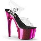High Heels Adore 708  von Pleaser pink