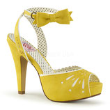 Pumps Bettie-01 von Pleaser gelb