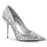 Pleaser Stiletto Heels Appeal-20G silber