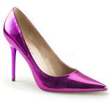 Pleaser Stiletto Heels Classique-20 orchid metallic