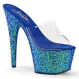 High Heels Adore 701LG  von Pleaser blau